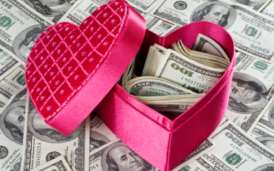 Showing Your Money Love on Valentine's Day